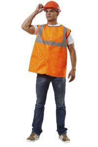 Жилет Рабочий оранжевый